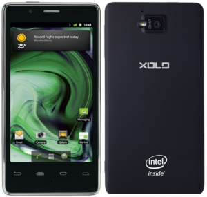 Lava Xolo X900 Front and Back